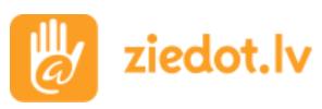 Ziedot.LV logo
